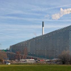 Modern waste incineration plant in Denmark